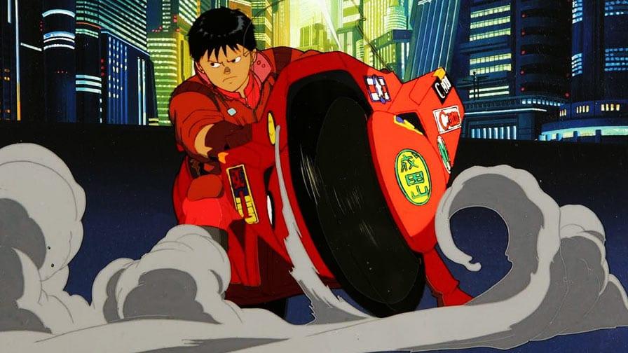 Cena do filme 'Akira', disponível na plataforma iTunes