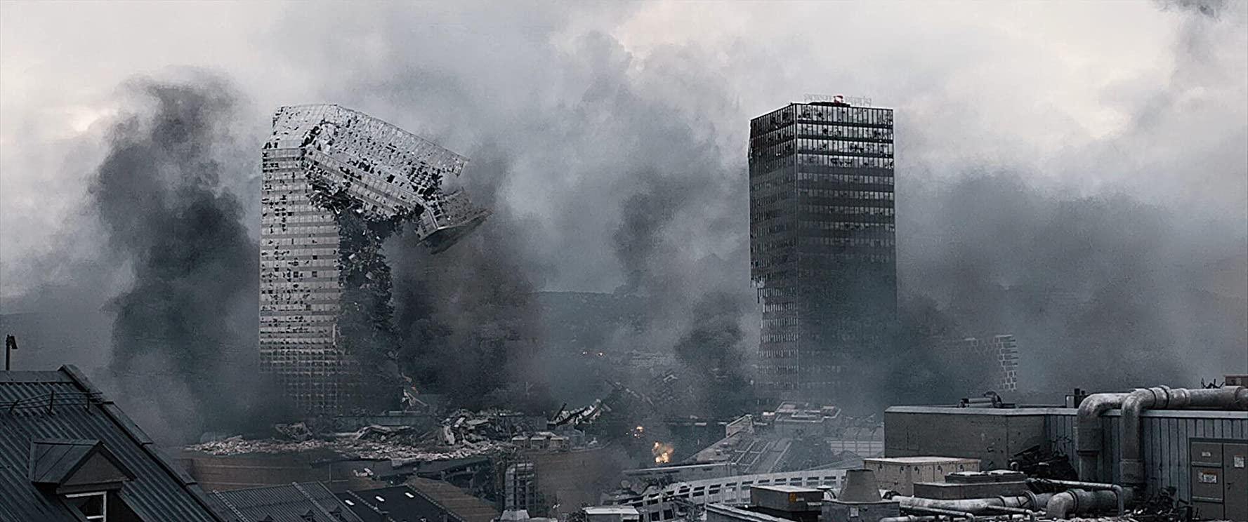Cena do filme 'Terremoto', produção de ação do cinema nórdico