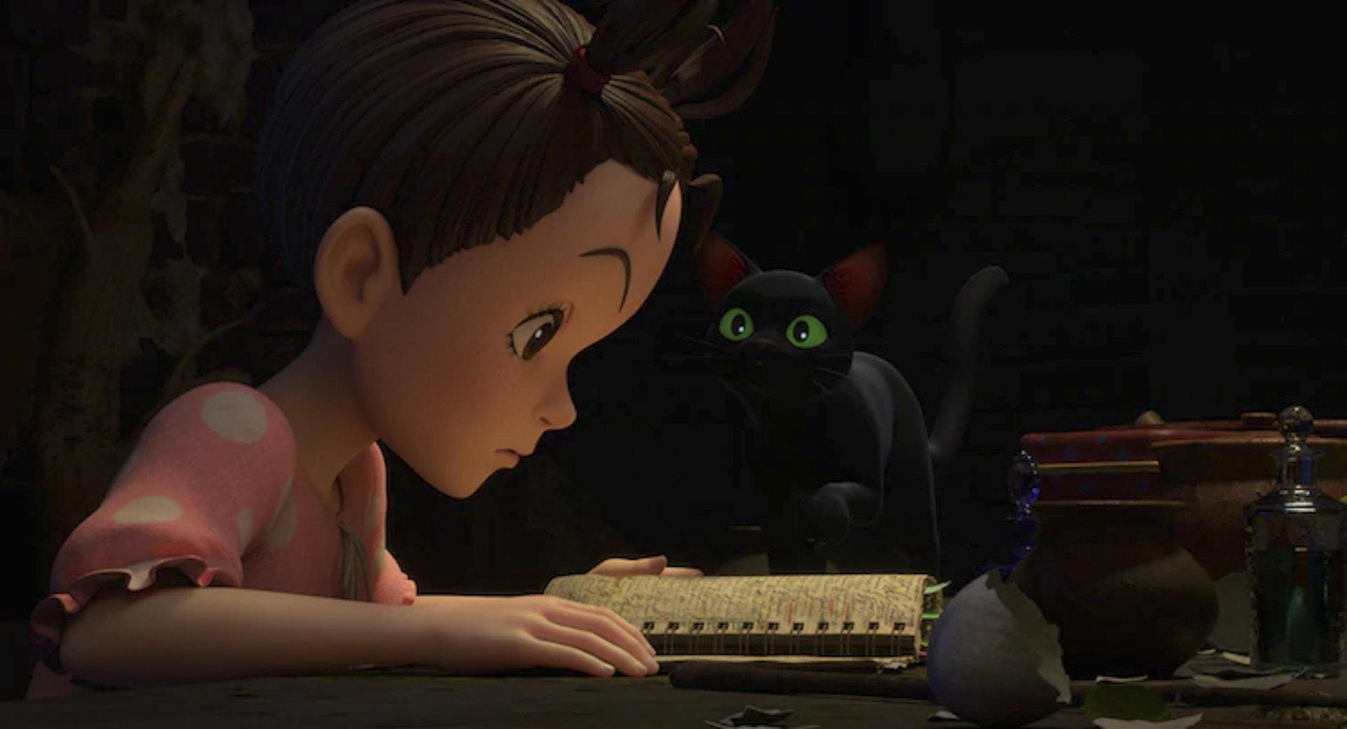 Aya and The Witch (2020)CR: NHK, NEP, Studio Ghibli