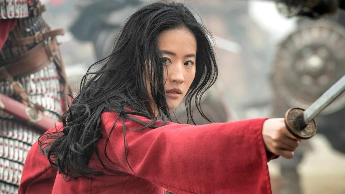 Cena de Mulan, novo filme da Disney