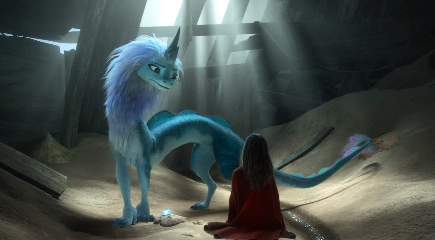 Cena de 'Raya e o Último Dragão', da Disney