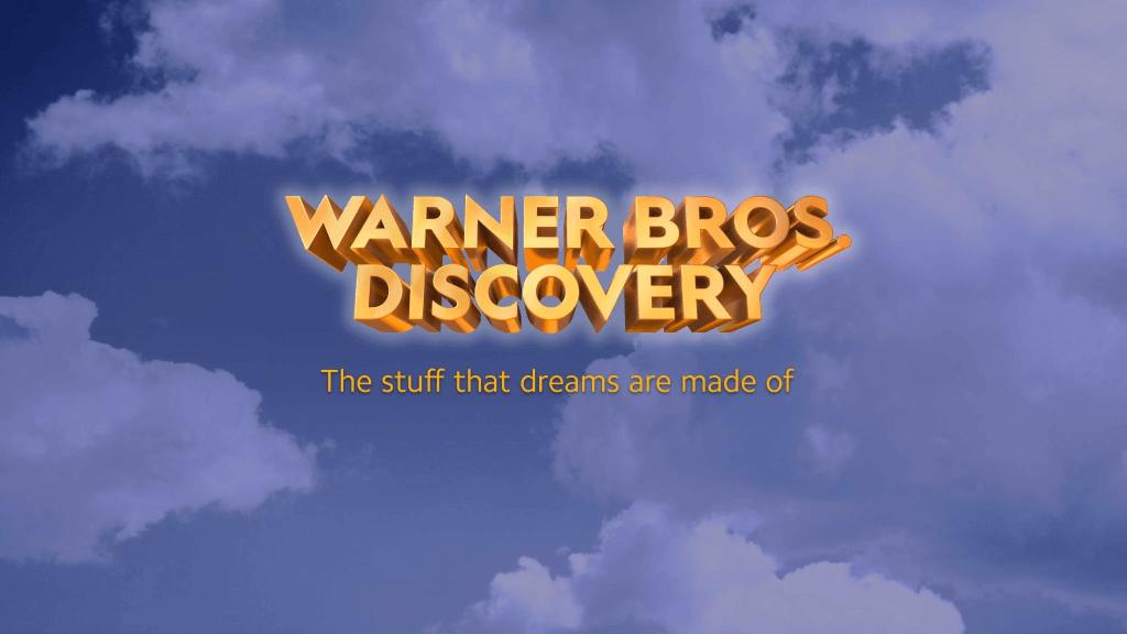 A proposta de novo nome para a união entre WarnerMedia e Discovery; não é, ainda, a versão final do logo (Crédito: divulgação / WarnerMedia)