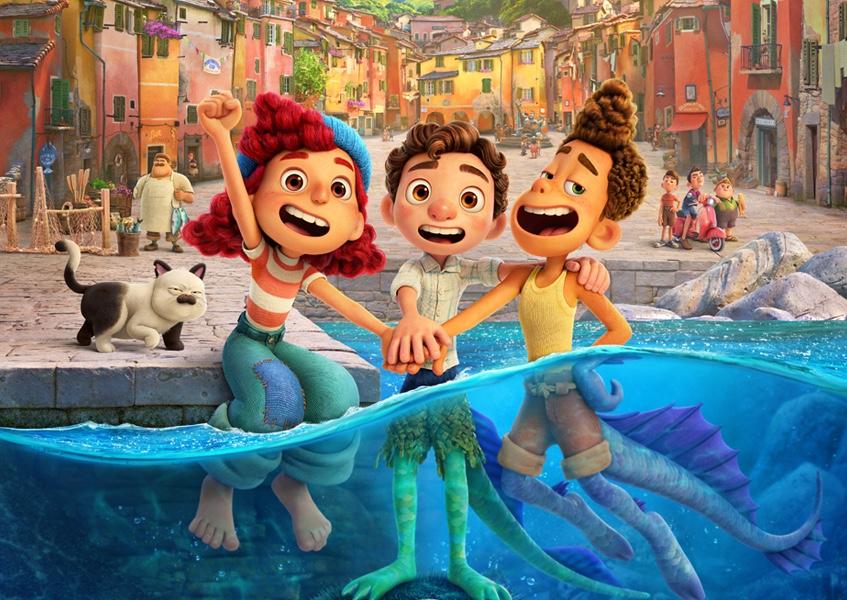 'Luca', animação da Disney, é sobre aceitar nossas diferenças, diz diretor