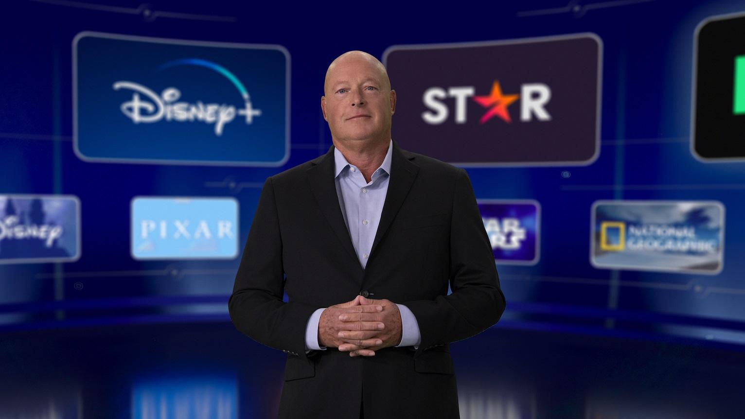 Bob Chapek é o atual CEO da Disney, substituindo Bob Iger (Crédito: divulgação / Disney)