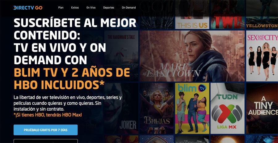 HBO Max gratis con DirecTV Go
