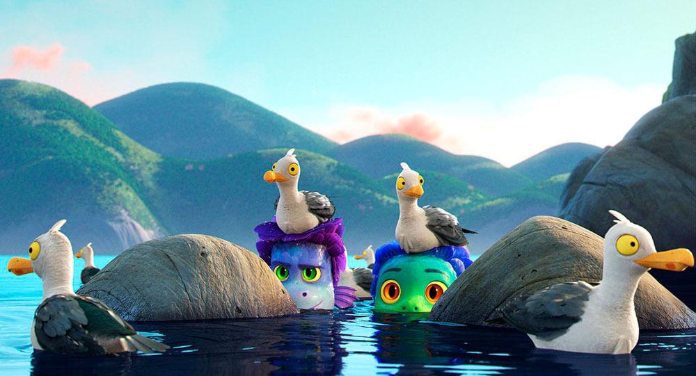 Los monstruos en Luca, de Pixar