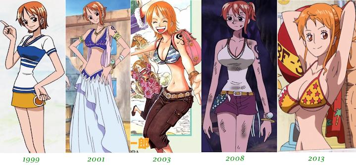 Nami, de One Piece