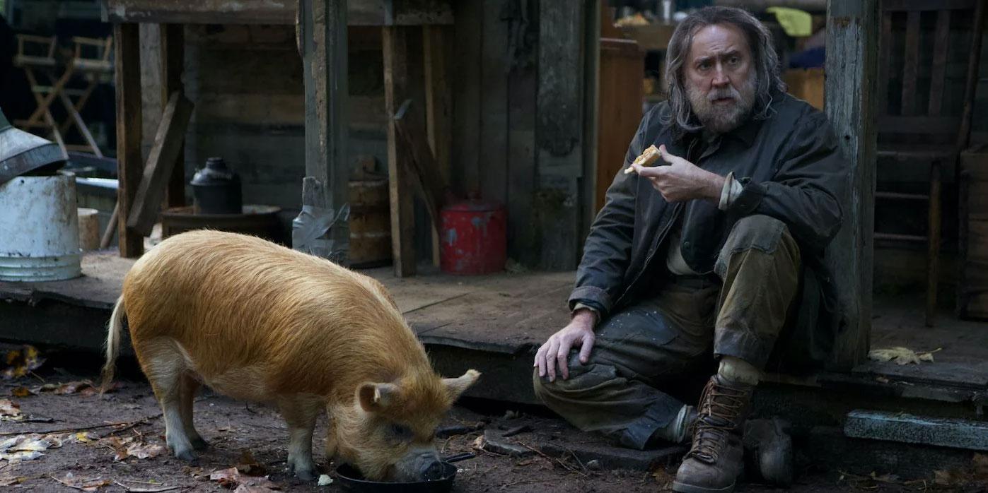Nicolas Cage en 'Pig'.