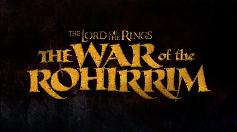 Logo de 'The War of the Rohirrim'.