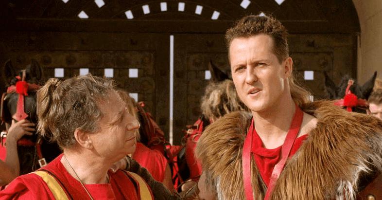 Michael Schumacher 'Astérix en los Juegos Olímpicos'