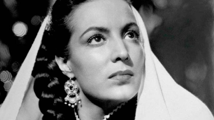 María Félix en 'Enamorada'